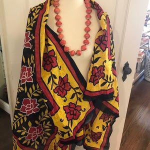 Accessories - African lightweight scarf blanket sarape